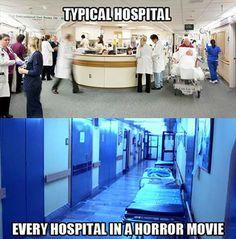 hospitals in themovies