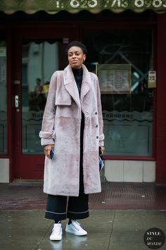 London Fashion Week Mens FW 2017 Street Style: Donna Wallace
