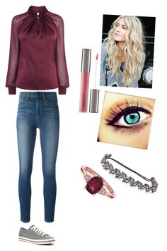 """Untitled #413"" by ali-cox20 on Polyvore featuring Paige Denim, Perricone MD, Keds and Deepa Gurnani"
