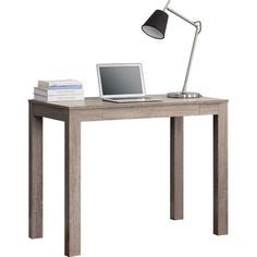 Redefine Your Workspace Or Any Room In Your Home With The Sleek, Minimalist  Lines Of This Modern Classic Home Office Laptop Desk In Medium Oak Finish.