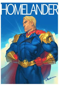 Fake propaganda type picture of Homelander from DA BOIZ this new indie show that no one's really talking about at all. Dino Crisis, Comic Art, Comic Books, Marvel E Dc, Superhero Characters, Boys Wallpaper, Superhero Design, Fun Comics, Boy Art