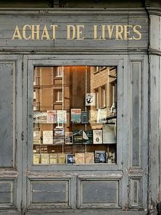 An Old French Book Store <3