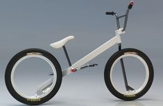 Eco Factor: Chain-free bicycle concept with hubless wheels. Designed by Nikolay Boltachev, a graphic designer from Russia, the BMX Concept bicycle is a next-generation hubless bike that offers a silent and comfortable ride on a chain-free system. Velo Design, Bicycle Design, Radios, Vintage Bmx Bikes, Bikes Games, A Gear, Piece Auto, Bmx Bicycle, Bicycle Wheel