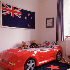 union jack little boy's bedroom