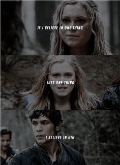 Bellamy Blake and Clarke Griffin || The 100 || Bellarke || Eliza Jane Taylor and Bob Morley