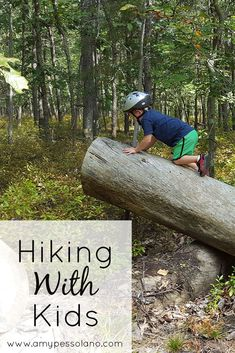 These are great tips for taking kids hiking, no matter what age!