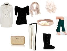 """""""Beige+UGG=3"""" by oliviawright on Polyvore"""