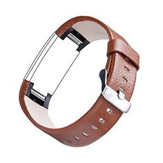Amazon.com: For Fitbit Charge 2, TreasureMax Leather Replacement Band for Fitbit Charge 2 Band / Charge 2 / Fitbit 2 / Charge 2 Fitbit / Fitbit Charge 2 Bands,Light Brown (No Tracker): Sports & Outdoors
