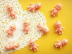 Cute teeny kewpie dolls