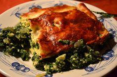 Lasagnes #brocciu, menthe et épinard - #recette #corse