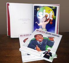 Blog do Elihu: Homenagem aos 85 anos de Silvio Santos. Editora As...