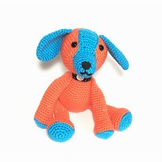 Pepito the puppy dog ready for shipping by Exporium on Etsy