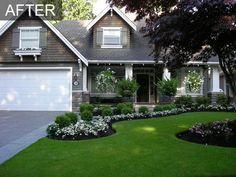 Front Yard Front Yard Makeover Transformation | South Surrey BC #LandscapeIdeasFrontYard