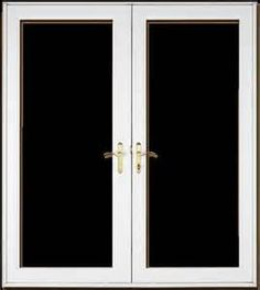 feather river door patio doors painted black patio doors