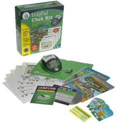 LeapFrog LeapPad Club Kit with Mind Station Connector, Leap's Pond Magazine, Reading Activity Sheets & 2mb Data Re-Useable Cartridge, Leap Frog, Leap Pad