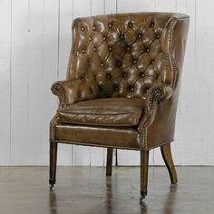 Victorian High Backed Club Chair - Ralph Lauren Home - RalphLaurenHome.com