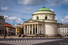 St. Alexander church, Three Crosses Square (Plac Trzech Krzyzy), Warsaw, Poland