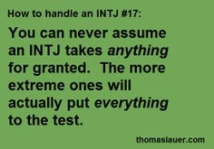 How to Handle an INTJ #17
