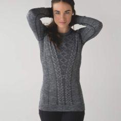 New Lululemon Restless Pullover Never worn (tore tags off) Restless Pullover. lululemon athletica Tops