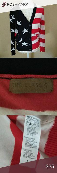 🇺🇸United States of America flag cardigan 🇺🇸United States of America flag cardigan The Classic Sweaters Cardigans