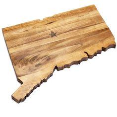 Inspirational Cutting Boards Shaped Like States