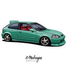 Honda Civic EK. T-shirts, covers, stickers, posters - already available in my store on #redbubble. Link in profile. You can also order the the art with your car. I accept orders. Write me DM or email. #107 #olegmarkaryan #carartist #carart #designarf #cardrawing #automotive #automotivearts #carinstagram #cargram #carposters #speedhunters #shirtprint #honda #hondacivic #hondacivicek #civic #civictyper #hondatyper #typer #drift #jdmlife #jdmgram #jdm