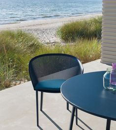 www.littlerugshop.com New #outdoor #chair from @ronanerwanbouroullec for @kettal is both durable and delicate. More on designmilk.com. Now if only it came with a beachfront view by designmilk