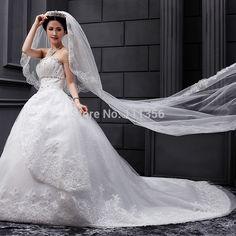 Long Lace 2 Layer Wedding Veil Bridal 3M White Wedding Accessories with comb Bridal Accessories For Bride