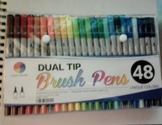 (Part 4 Christmas Presents) Brush Pens {Merry Christmas! This Is What I Got From My Grandparents For Christmas} ((Made: MagicalCreativity))
