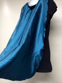 Children's Dress-Up Satin Cape from The Bent Penny on Etsy - $10