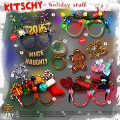 Yummy - Kitschy Holiday Stuff