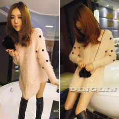 Cheap button sleeve, Buy Quality button women directly from China women women Suppliers:  • 100% BRAND NEW • Weight:173  g(Approx) • Color: Pink • Materials: Knit&Faux Fur • Compar