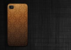 Luxury Brown Seamless Case Rubber Silicone iPhone Case, Plastic iPhone For iPhone 4/4s/5 by Billion Case #iPhoneCase #BillionCase #Seamless #luxury