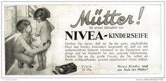 Original-Werbung/ Anzeige 1929 - NIVEA KINDER-SEIFE - ca. 180  x  75  mm