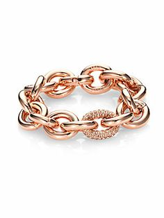 London Fashion Week Essentials - Eddie Borgo Pavé Chain Link Bracelet #eddieborgo #LFW