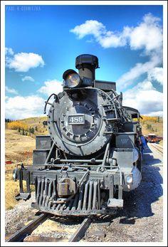 Cumbres & Toltec Scenic Railroad 489 by on deviantART Train Tracks, Train Rides, Old Steam Train, Railroad History, Train Art, Old Trains, Train Pictures, Model Train Layouts, Steam Locomotive