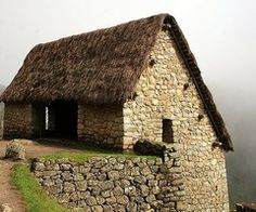 Old stone bank barn.   ..rh