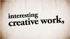 Un consiglio per tutti i creativi [video]