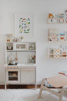 arlo's nursery : updates – almost makes perfect - Kinderzimmer Girl Room, Girls Bedroom, Ikea Play Kitchen, Ikea Kids Room, Kids Rooms, Minimalist Kids, Kids Room Design, Design Set, Room Decor