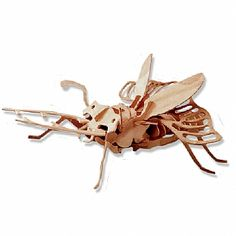 3-D Wooden Puzzle - Stagbeetle