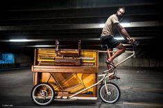 Eric Rich Piano Bike