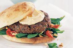 Lebanese Kibbeh Burgers Recipe