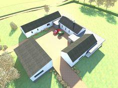 Passive House Carlow - Traditional Irish Farm Style