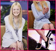 ELLE FANNING WEARING GLASSES 2011 | Elle Fanning Style » Your #1 Source for Elle Fanning's wardrobe: On ...