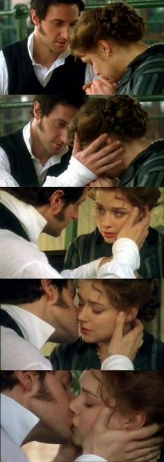"""My darling, l don't care about the mill, your money or anything that happened in the past. All l care about is you sitting here with me, holding my hand. Look into my eyes and see how much l long to make you mine.""North&South"