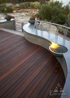 Lovely Balcony Flooring Materials