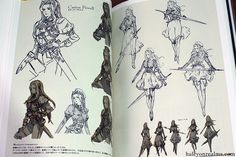 Halcyon Realms – Animation.Film.Photography and Art Book Reviews » » Tactics Ogre Art Works – Square Enix Art Book