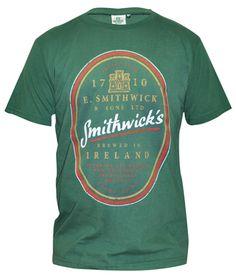 Guinness Kaki Green Gaelic Label Cotton Tee Shirt Men/'s Irish Ireland NEW