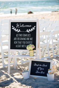 Welcome all, signage by SayEverything on Etsy. Photography by TaraLynnSen.com