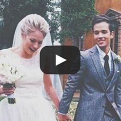 Nathan Kress Wedding Video. Grab the tissues because this wedding video is bound to make you tear up. #SayYestotheKress